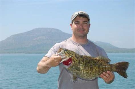 Okla Records Fishing News New Oklahoma State Record Smallmouth Bass Realfishin