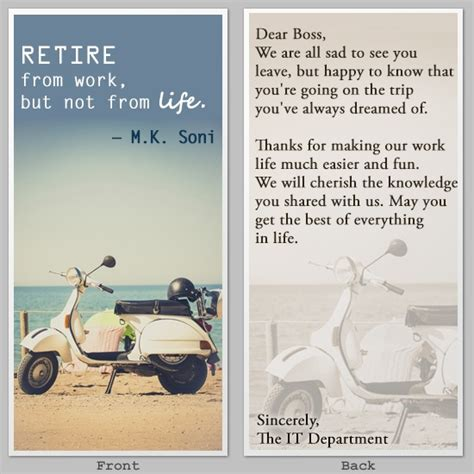 thank you letter to your who is retiring unique and truly memorable happy retirement wishes for