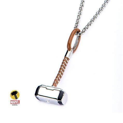 buy jewelry marvel jewelry thor necklace mjolnir