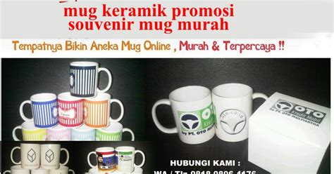 Aneka Mug Promosi jual mug keramik promosi souvenir mug murah barang promosi mug promosi payung promosi