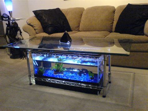 Coffee Table Aquarium | aquarium coffee table 7 steps with pictures