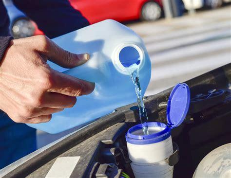 refill windshield wiper fluid easy  minute guide