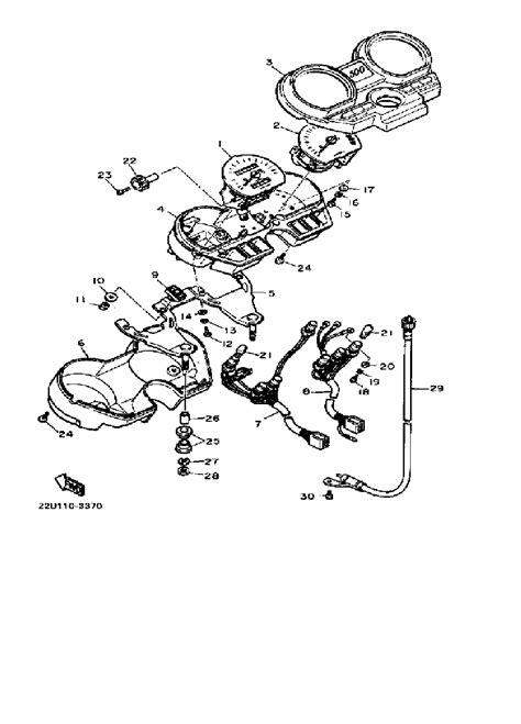 1987 1100 virago wiring diagram yamaha virago 1100 wiring