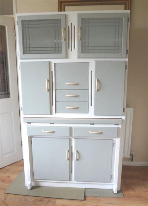 Antiques Atlas   Kitchen Larder Cabinet 1950s