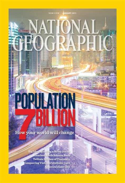 National Geographic January 2011 Product National