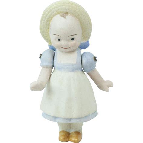 bisque kewpie doll germany 1910s german hertwig all bisque molded dressed kewpie doll