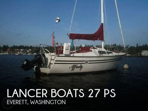 boat dealers everett for sale used 1984 lancer boats 27 ps in everett