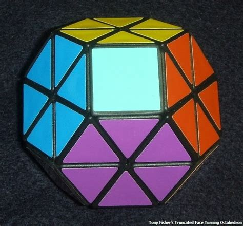 Rubik Octahedron tony fisher s truncated turning octahedron rubik s