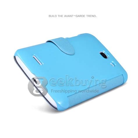 Huawei Ascend G730 Nillkin Fresh Series Leather Flip Flip Cover nillkin fresh series polycarbonate flip leather for