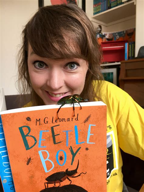 the boy with the rainbow books file m g leonard with book beetle boy and pet