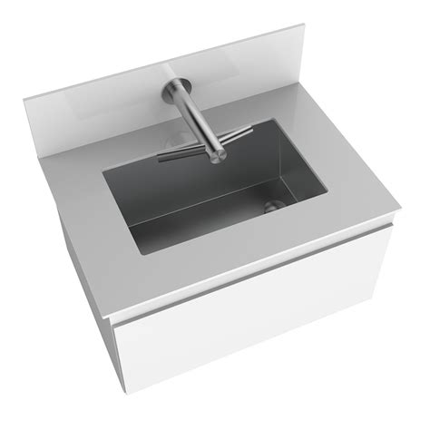 dyson sink with hand dryer arroyo under counter trough featuring the dyson airblade