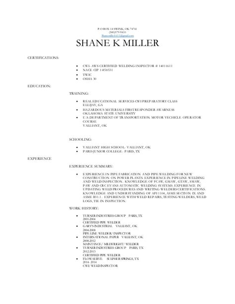 cwi resume resume ideas