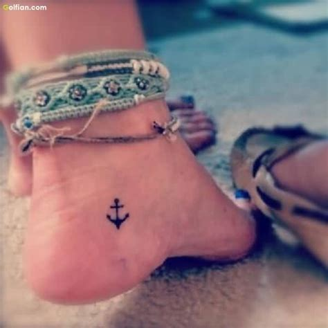 small anchor tattoo on ankle 50 amazing anchor ankle designs and ideas stock