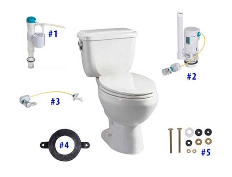 Briggs Plumbing Parts by Briggs Conserver Toilet Replacement Parts