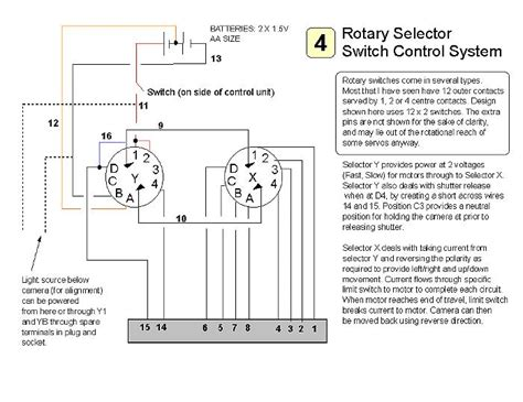 rotary switch 6 wiring diagrams switch free