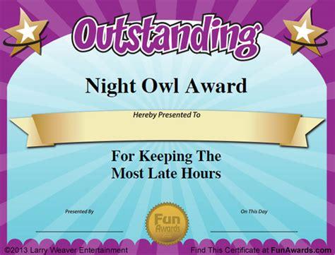 funny teacher awards 101 printable certificates fun