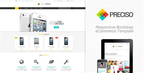 bootstrap templates for online store 15 responsive bootstrap e commerce templates