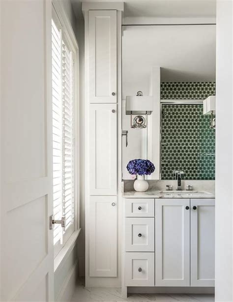 floor to ceiling bathroom cabinets vertical bathroom cabinets transitional bathroom