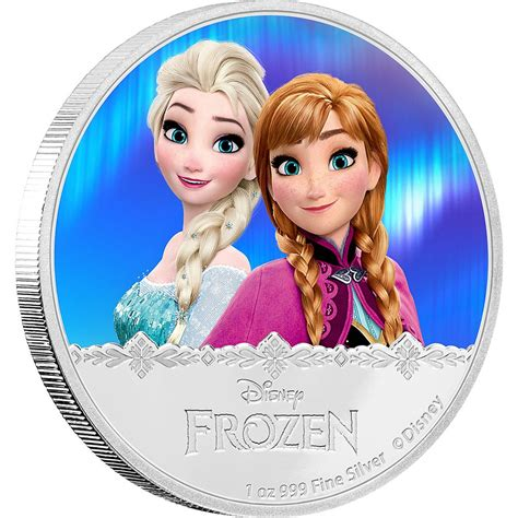 frozen barriers series 1 elsa disney frozen series 2016 1 oz silver coin