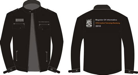Jaket Sweater Hoodie Wolfskin Simple Keren 4 Design Jaket Angkatan Magister Of Informatic S Itb
