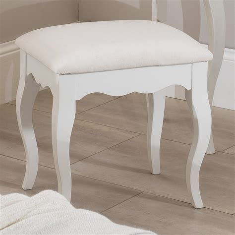 white bedroom stools uk romance dressing table stool bedroom furniture direct