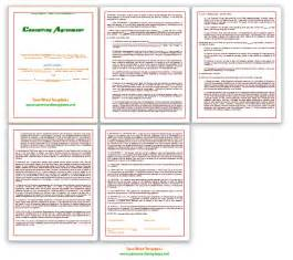 consulting agreement template save word templates