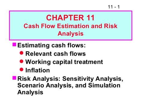 exle of cash flow estimation fm11 ch 11 cash flow estimation and risk analysis