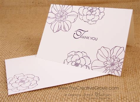 decorative printable postcards card design ideas saying those simple thank you cards