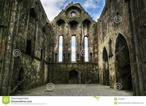 rock  cashel interior stock image image