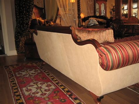 gator leather sofa duncan phyfe sofa with green gator leather filled