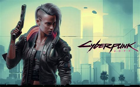 wallpaper cyberpunk  female   games xbox