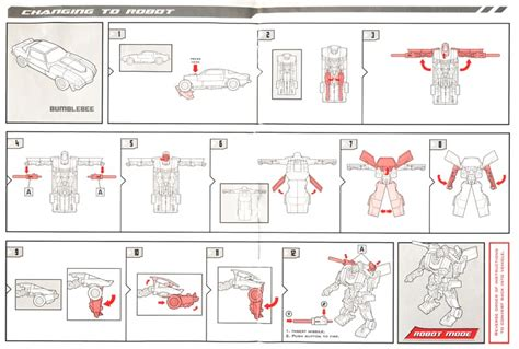 How To Make Paper Weapons Step By Step - booklet teletraan i the transformers wiki