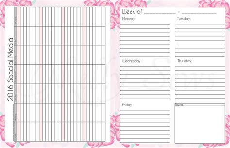 printable day planner pages 2016 diy planner templates free sanjonmotel