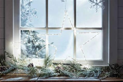 Edle Weihnachtsdeko Fenster by Fensterdeko Weihnachten Tolle Und Einfache Last Minute Ideen