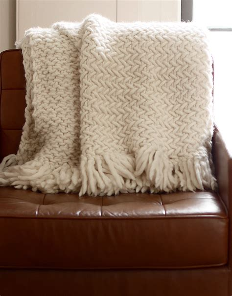 knit throws how to knit a blanket watg