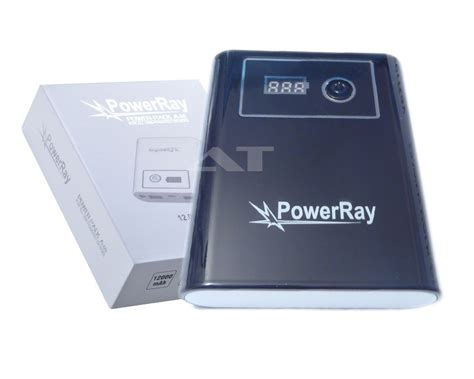Powerbank 60 000mah powerray powerbank a60 12 000mah schwarz mobile energie