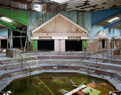 haunting photos of a deserted mall that is now covered in pic of the day ghosts of shopping past flavorwire