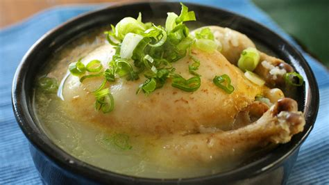 Chicken Soup For The Working ginseng chicken soup samgyetang 삼계탕