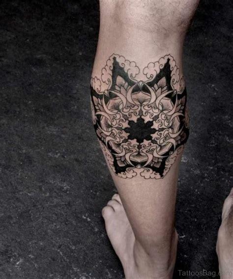 geometric round tattoo 49 superb geometric tattoos on leg