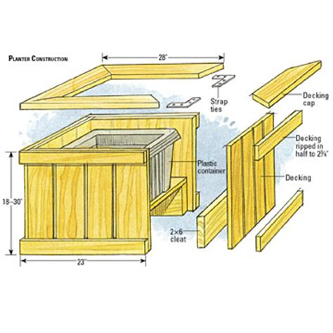 deck bench planter deck planter boxes bench plans pdf woodworking