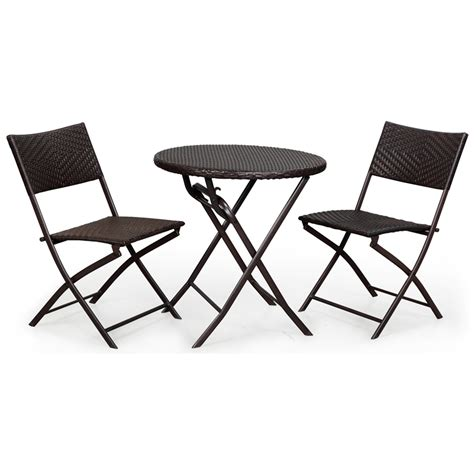 folding chairs bunnings marquee 3 wicker folding setting bunnings warehouse
