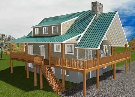 House Plans With Wrap Around Porches Plan 61269ut Vacation Home With Wrap Around Porch Lake