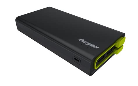 Power Bank Log On 15000mah energizer ue15001 15000mah power bank with build in cable black