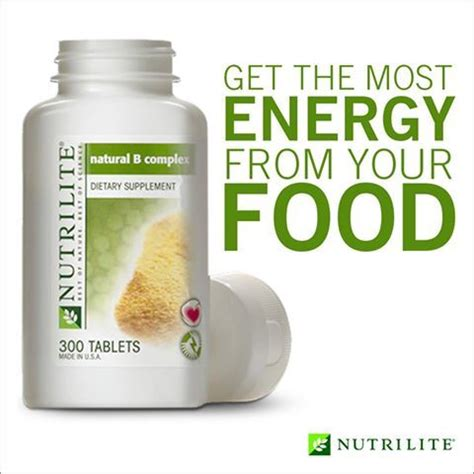 Vitamin B Complex Amway 49 best nutrilite best of nature best of science images