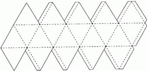 figuras geometricas moldes para imprimir icosaedro retangular desafios da sala de aula