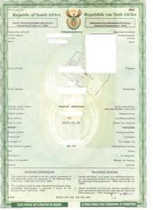 Used Car Valuation Certificate Joburg Expat How To Register A Car In South Africa