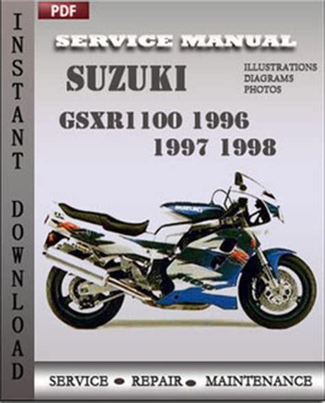 suzuki gsxr1100 1996 1997 free download pdf repair