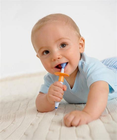Baby Toothbrush Set T1310 2 nuk toothbrush set with baby gum massager 6m