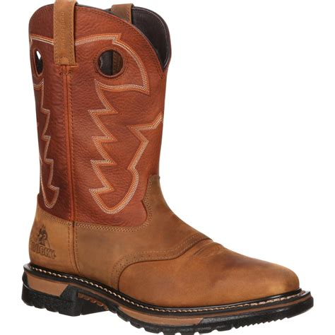 rockies boots for rocky original ride waterproof western boots rkyw039