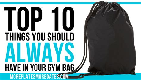 Things You Should About Your Bmi by Top 10 Things You Should In Your Bag